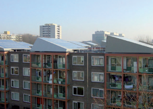 The apartments of the 2MW project, in Haarlem, Netherlands