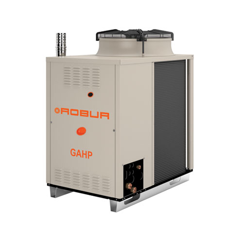 Robur GAHP-AR heat pump