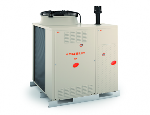 New Gitié range of trivalent gas-powered packaged chillers and heat pumps