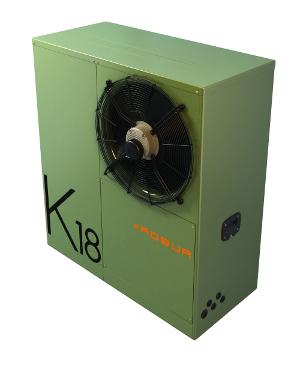 Robur K18 gas heat pump - right
